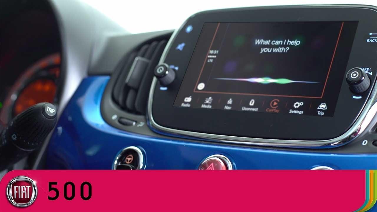 uconnect fiat 500  Fiat 500 Mirror - Uconnect - Apple CarPlay | Fiat UK - YouTube