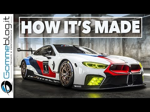 2018 BMW M8 GTE - How To Make a RACE CAR | Development Interior, Engine, Exterior