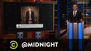 White House Correspondents Denied - @midnight with Chris Hardwick
