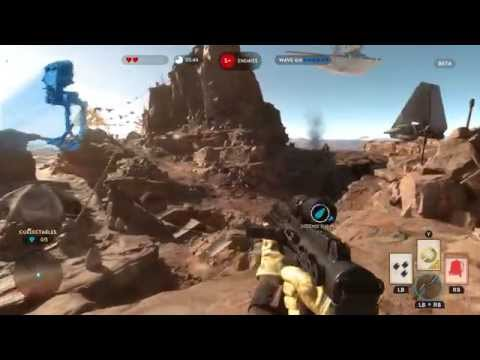 Бета-версия Star Wars Battlefront удивляет низким разрешением на Xbox One и Playstation 4