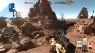 Star Wars Battlefront Beta - Gameplay Xbox One