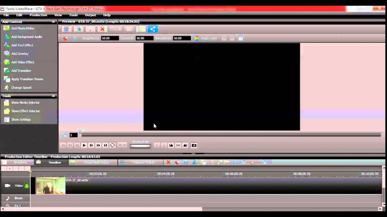 How I edit my videos/short Roxio videowave guide