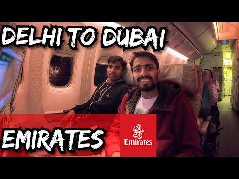 Delhi to Dubai | Emirates 🇦🇪 Immigration Questions | Ft. Become Youtuber