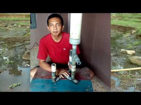 Inilah rahasia cara membuat pompa air tanpa listrik