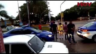 Un joven se resistió a la Policía con una rama en Cruz del Eje