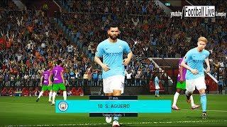 PES 2018 | MANCHESTER CITY vs BRISTOL CITY | Full Match | Gameplay PC