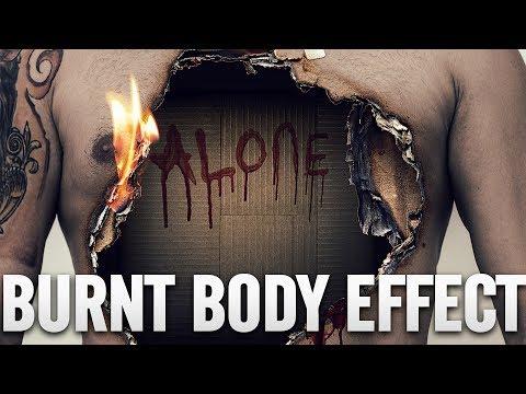 Burn Effect - Photoshop 2017 Tutorial (PSD Box)