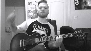 Trivium Skulls...We are 138 (bonus track) Misfits cover guitar playthrough
