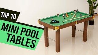 10 Best Mini Pool Tables 2019 Reviews