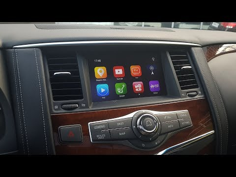 Infiniti QX80 (EX, FX, QX, G...) с 08IT и блок навигации ROiK10 C OS Android 8.1.0