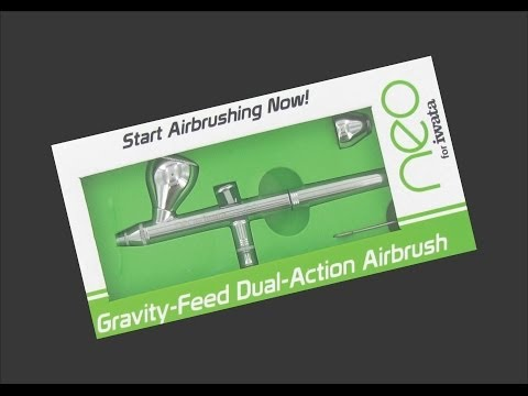 Neo for Iwata Airbrush Scale Model Tool Review