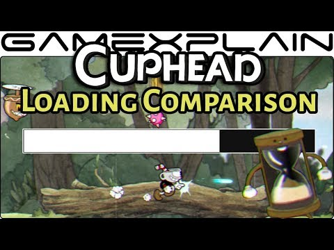 Cuphead Load Time Comparison (Switch vs. Xbox One X!)
