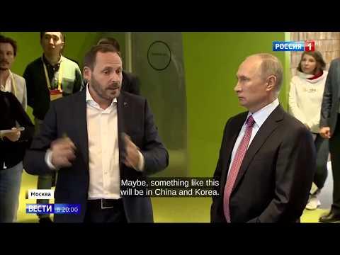 Putin Visits Russian Google 2.0  - Yandex