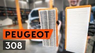 Kā nomainīt gaisa filtrs PEUGEOT 308 1 T7 [PAMĀCĪBA AUTODOC]