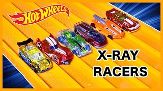 RACE: FANTASY X-RAY RACERS Series 12, Race 1 - Hot Wheels