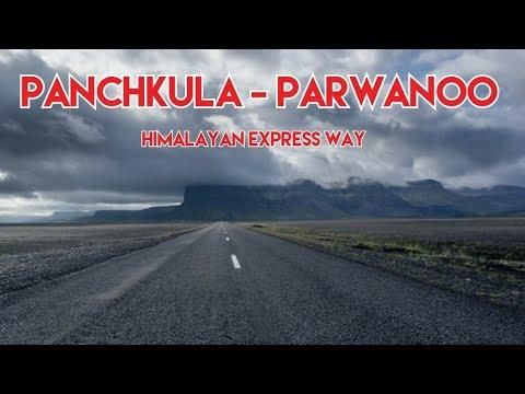 Panchkula - Parwanoo Road trip | Himalayan Express way road clip