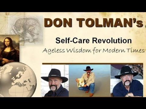 DON TOLMAN - The Whole Foods Medicine Man - Pulse - Farmacist Desk Reference - #love Self Care