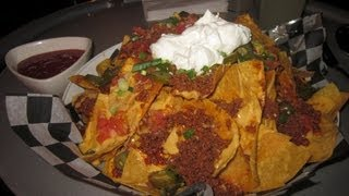 Monster Nacho Challenge 6lb Cheesy Nachos Platter - Food Challenge