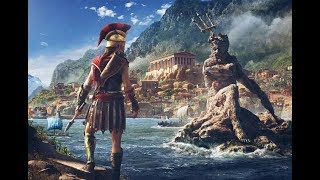 Assassin's Creed Odyssey Spear of Leonidas, Stealth Kills, Leap of Faith & Naval _Gameplay_60fps