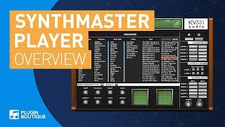 Synthmaster Player by KV331 Audio | 1700 Presets