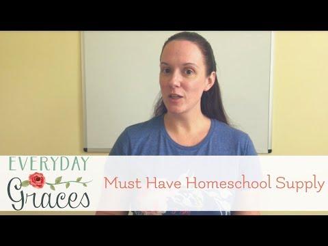 My Must Have Homeschool Supply