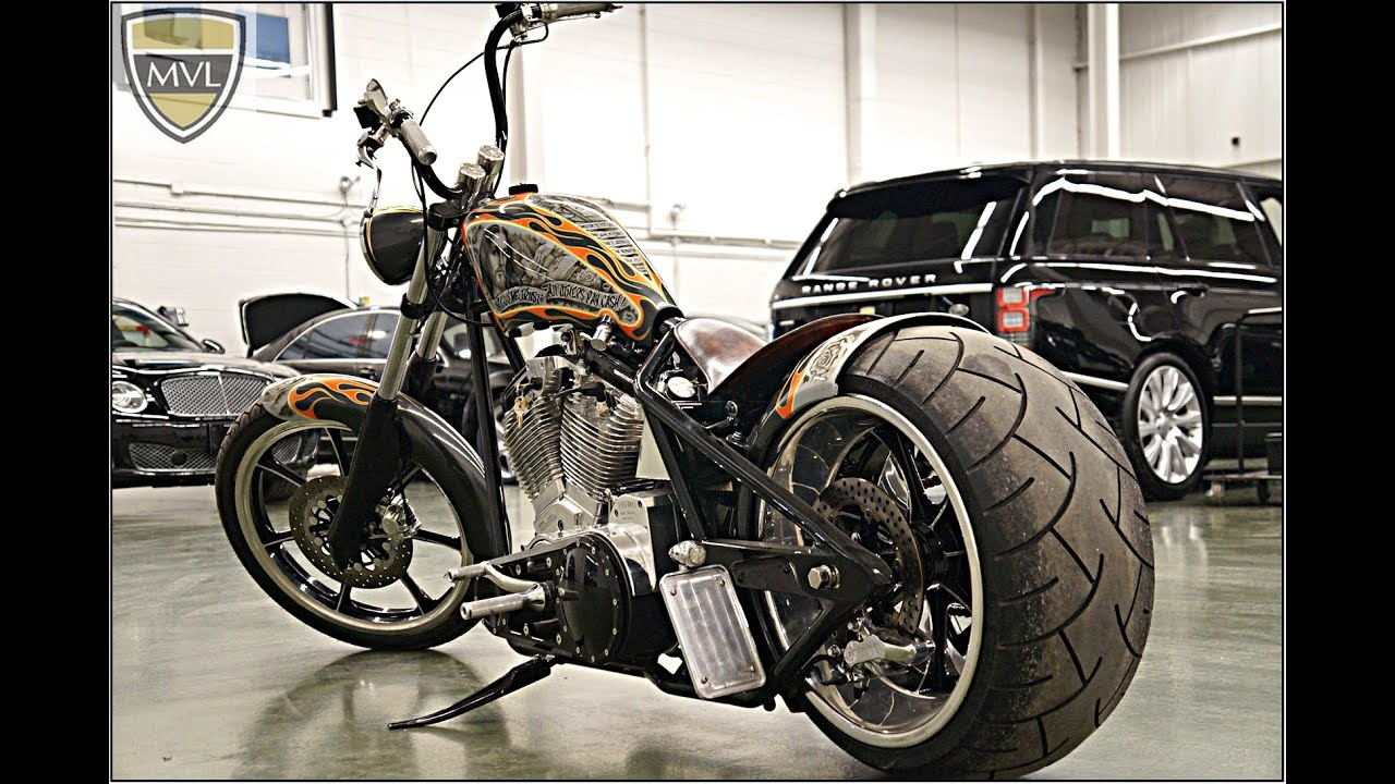 West Coast Chopper Dominator By Jesse James Grindhouse Youtube