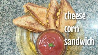 Cheese corn sandwich || Savita Saini