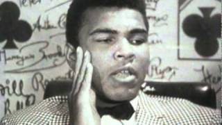 Muhammad Ali interview on Henry Cooper