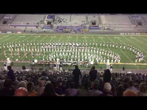 The University of North Alabama Pride of Dixie Marching Band Favorite Things full show 10/15/16