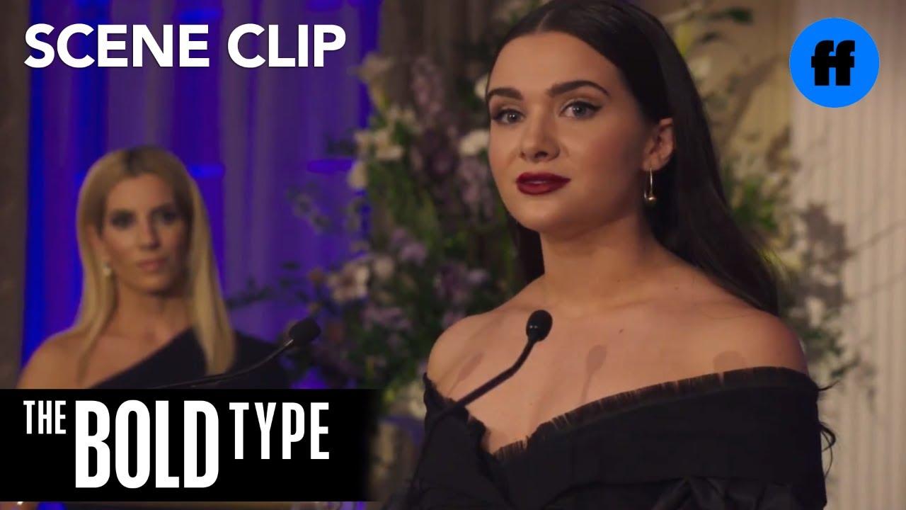Download The Bold Type | Season 2, Episode 6: Jane's Speech at Mandys Award Ceremony | Freeform