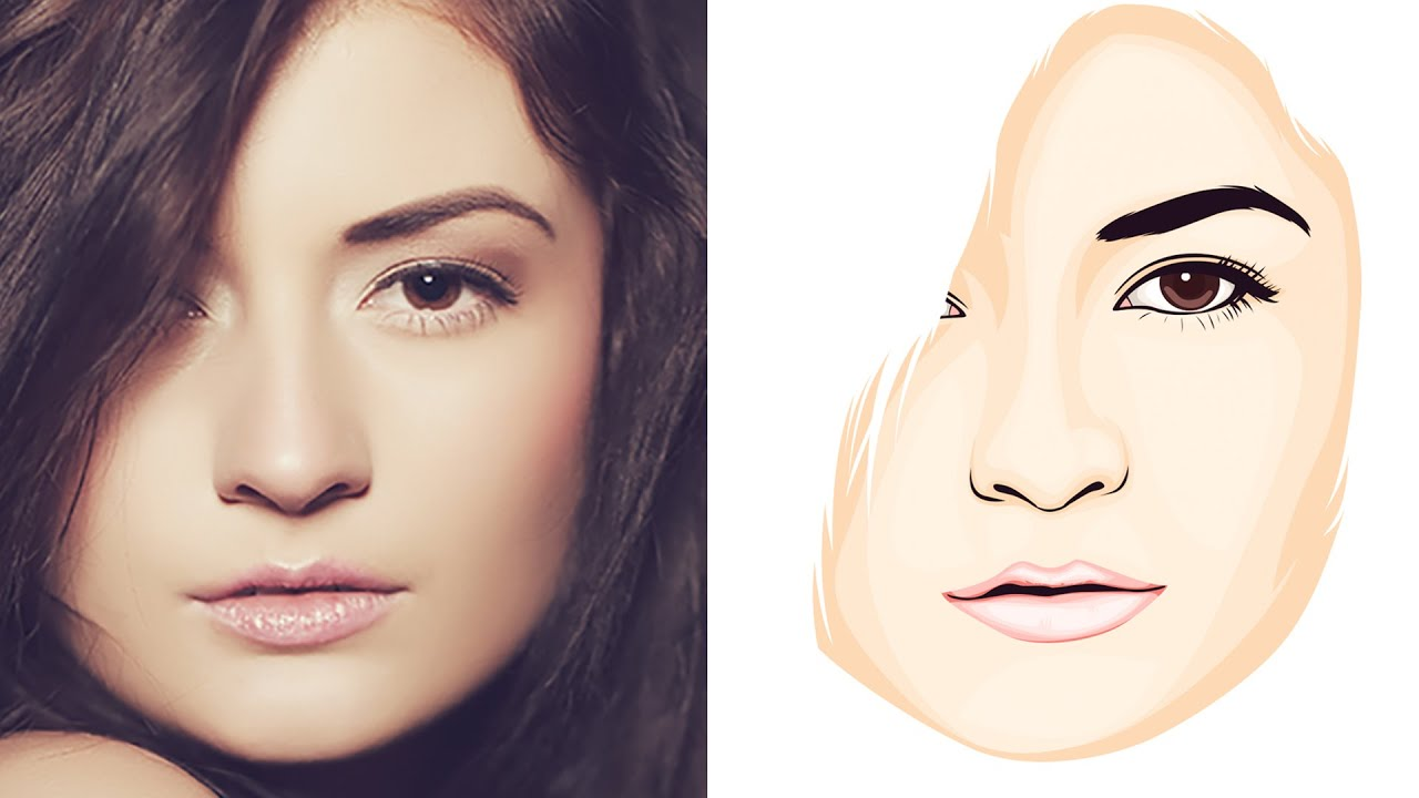 Tutorial Vector Face In Photoshop CC 2015