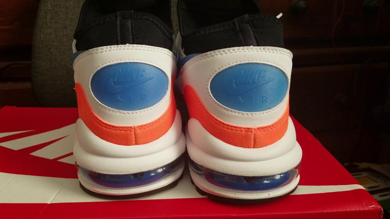 67bc9ac945 Nike Air Max (Air Max 93) (White/Blue Nebula - Total Orange) - YouTube