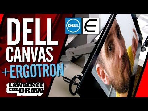 Dell Canvas 27 With Ergotron Arm & VESA Mount