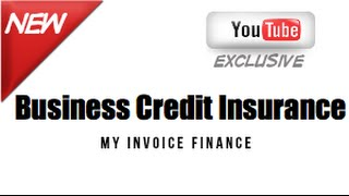 Business Credit Insurance | My Invoice Finance
