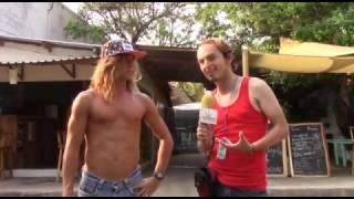 Campeon de Surf en El Salvador