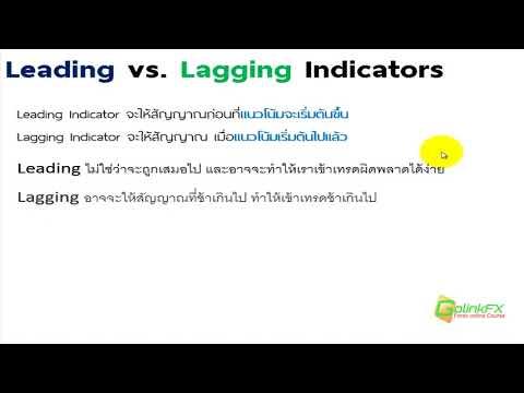 สอนเทรด Forex ฟรี -  ประเภทของ Indicator leading vs lagging| LINE : @GOLINKFX