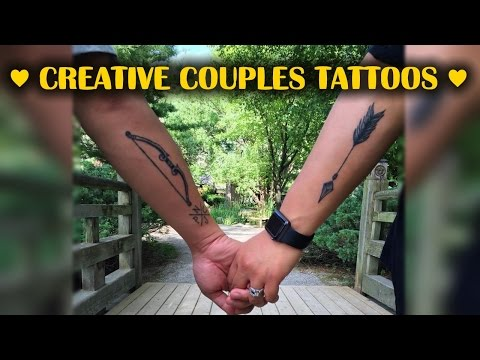 Love Really Is Forever Creative Couples Tattoos