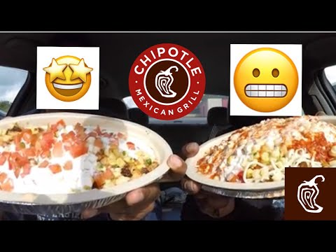 Chipotle Food Review!!! MAM EATING SHOW!!!