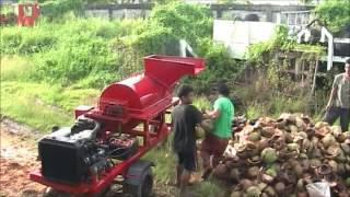 Starke MDD-S380 Shredder Machine for Coconut and biodegradable substrates