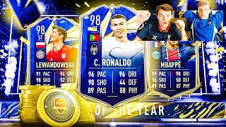 ON OUVRE NOS RÉCOMPENSES ÉLITE FUT Champions TOTY Pack Opening & 86+ SBC! FIFA 21 avec 0€ #74