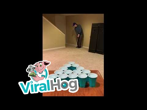 Insane Trick Shot Compilation || ViralHog