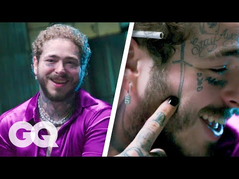 Post Malone Breaks Down His Tattoos Part 2 | GQ