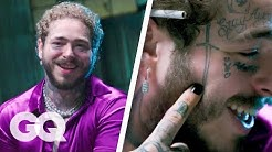 Post Malone Breaks Down His Tattoos Part 2   GQ