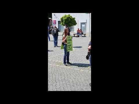 Weiden: Solo-Spontan-Demonstration