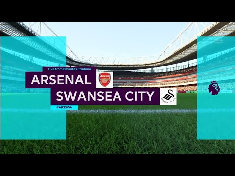 FIFA 18 | Premier League | Arsenal v Swansea City | Emirates Stadium