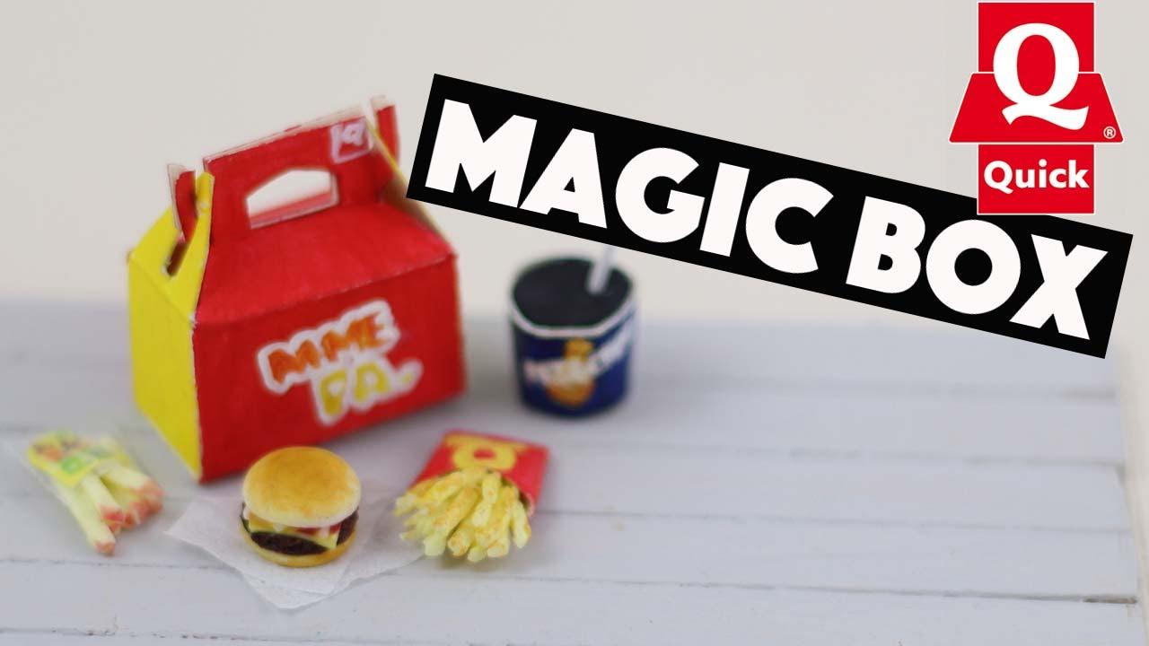 Magic box quick fimo et papier youtube for Video de cuisine youtube