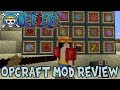 Gambar cover NEW DEVIL FRUIT, DEVIL FRUIT LEVELS, CREWS & MORE!  Minecraft One Piece Craft Mod Review