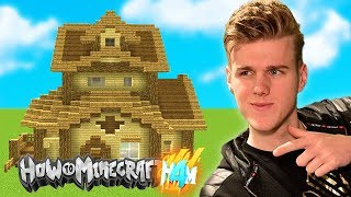 THE BEST HOUSE EVER! (Not Really) HOW TO MINECRAFT 4