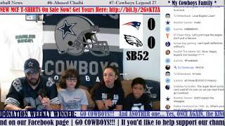 *** REACTION STREAM*** SUPER BOWL 52 MCF SPECIAL: New England Patriots vs Philadelphia Eagles!