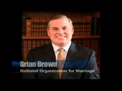 Brian Brown from the National Organization for Marriage
